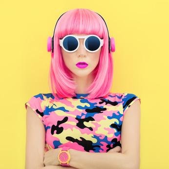 fashion music girl